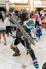 AWA 2018: Monster Hunter Cosplay (DuckDuckDavid) Tags: awa anime weekend atlanta 2018 cosplay jpop japanese