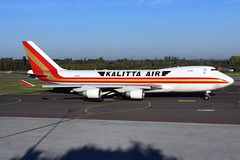 Kalitta Air  Boeing 747-4B5F N710CK (widebodies) Tags: liege lüttich lgg eblg widebody widebodies plane aircraft flughafen airport flugzeug flugzeugbilder kalitta air boeing 7474b5f n710ck