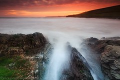Ballycroneen Oct 2018 (paulflynn) Tags: ballycroneen ballycotton seascape carrigtwohill redsky red rocks
