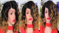 How To Make Quick & Easy Protective Full Head Ombre Autumn Style Curly Wig (yoanndesign) Tags: autumnstylewig curlyshoulderlengthwig diywigs easyprotectivefullheadwig halloweenfullheadwig homemadewig howtomakeawig howtomakeanombrestylwwig ombrestylewig quickandeasyfullheadwig shortcurlywig shoulderlengthwig