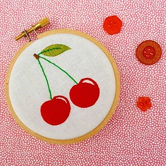 Have you tried out the #Free #Cherries embroidery pattern over on the website? (link in bio) It's super cute, fitting into a 3 inch hoop and stitches up really quickly (ohsewbootiful) Tags: ifttt instagram embroidery etsy etsyuk gifts giftsforher homedecor hoopart fiberart handembroidery handmade etsyseller embroideryhoop shophandmade handmadegifts decor wallhanging bestofetsy instaart hoopsofinstagram madebyme stitchersofinstagram