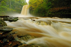 Little Stony Creek: Waterfall action (Shahid Durrani) Tags: little stony creek cascades pembroke virginia hurricane michael waterfall falls