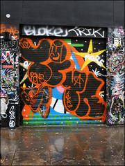 Time / (Alex Ellison) Tags: time osv shoreditch eastlondon bricklane throwup throwie urban graffiti graff boobs