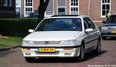 Peugeot 605 SR 3.0 V6 1992 (XBXG) Tags: 7zpp79 peugeot 605 sr 30 v6 1992 peugeot605 la fête des limousines 2018 fort isabella reutsedijk vught nederland holland netherlands paysbas emw elk merk waardig youngtimer old classic french car auto automobile voiture ancienne française vehicle outdoor