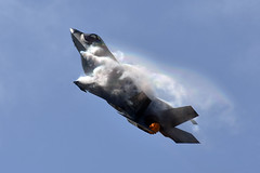 USAF Lockheed Martin F-35A Lightning II (zfwaviation) Tags: kafw afw alliance fort worth texas air show vapor airshow jet airplane plane aircraft bell 2018 clouds af41 f35 f35a jsf lightning ii 115030 61st fighter squadron top dogs luke afb arizona usaf us force