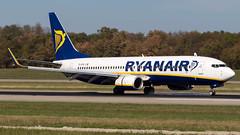 Boeing 737-8AS(WL) EI-EVG Ryanair (William Musculus) Tags: airport spotting basel mulhouse freiburg euroairport flughafen eap bsl mlh lfsb eievg ryanair boeing 7378aswl fr ryr 737800