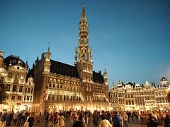 La Gran Plaza de Bruselas en el Sunset. (gustavoantonioromeromurga) Tags: bruselas belgica europa 2018 gran plaza sunset