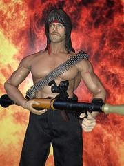 Thor as Rambo (Jackel24) Tags: 16 figure 16figure phicen m34 thorfigure rambo chrishemsworth