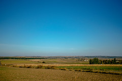 Autumn field and blue sky (OLF Picture) Tags: autumn landscape sky field nature grass clouds meadow blue green summer rural agriculture countryside cloud farm hill horizon country tree land spring view plant wheat corn