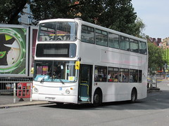 Atlantic Travel LJ54BBZ 01092018 (Rossendalian2013) Tags: bus manchester piccadilly railway station railreplacement atlantictravelbolton volvo b7tl transbus alx400 arrivalondon vla97 lj54bbz