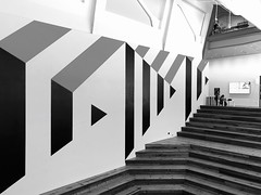 Up or Down (Melinda Stuart) Tags: stairs ucb berkeley bampfa design architecture monchrome ss saturdayforstairs