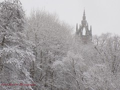 Precipitous Spire (jaggynetto2812) Tags: snow beastfaetheeast glasgow scotland snowy sunnysnow snowflakes beautiful fluffywhitestuff spire architecture building church