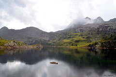 ° Laghi Gemelli (° Ivan) Tags: laghi gemelli twin lakes branzi bergamo lombardia lombardy italia italy north valle brembana val valley lake water mountain mountains high peaks clouds rainy reflections rock rocks cold landscape nature god prealpi orobie bergamasque alps