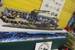 U-boot XIV - Vache à lait - 1/72 (CHRISTOPHE CHAMPAGNE) Tags: 2018 france cholet maine loire 49 exposition maquette club mauges uboot xiv 172 vache lait diorama
