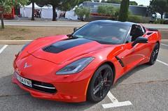 Chevrolet Corvette C7 Sting Ray (benoits15) Tags: chevrolet corvette c7 stingray usa america red castellet paul ricard