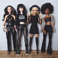 Don't mess with us (FreeRangeBarbie) Tags: barbie ooak goth
