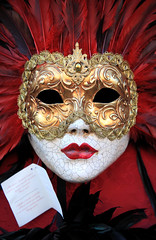 Venetian Mask (captures.in.time) Tags: venice italy venetian venetianmask mask spooky scarry beautiful fascinating travelphotography travel europe
