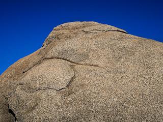 Boulder and Blue Sky