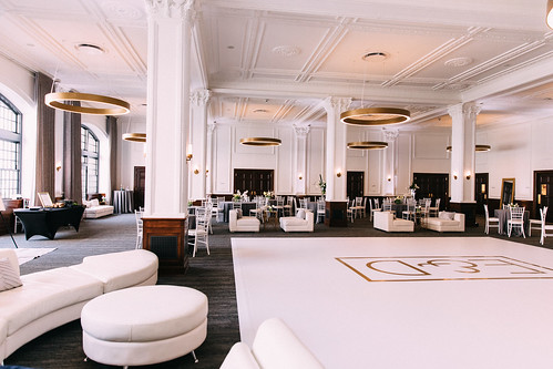 """Lounge Furniture and Vinyl Wrapped Dance Floor by Unique Events at Tea Room in Des Moines • <a style=""""font-size:0.8em;"""" href=""""http://www.flickr.com/photos/81396050@N06/29886388437/"""" target=""""_blank"""">View on Flickr</a>"""