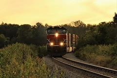 The Rock (matthewspika) Tags: illinois sunset freight