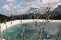 Reflecting (strachcall) Tags: sudtirol corvara dolomites landscape water mountains italy badia sasdlacrusc altoadige