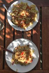 Lunch for Two (maxst001) Tags: 2018yip balkon essen essenmitchristine hausoderwohnung balcony flat food house krank zuhause wien austria