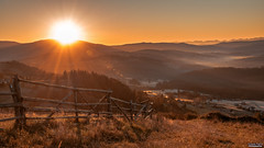 Sunrise in mountain (tomaszpluta1) Tags: mountains morning sunrise landscape poland