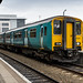 Arriva Trains Wales 150242 just arrived at Cardiff Central