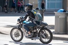 Biker (grexsysllc) Tags: atx austintexas d750 downtownaustin people peoplewatching austincitylimits keepaustinweird austin urbanexploration citylife street streetlife streetphotography girlwiththedragontattoo lisbethsalander honda motorcycle bikes
