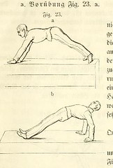 This image is taken from Page 35 of Instruktion für den Betrieb der Gymnastik und des Bajonettfechtens bei der Infanterie [electronic resource] (Medical Heritage Library, Inc.) Tags: physical education training military personnel wellcomelibrary ukmhl medicalheritagelibrary europeanlibraries date1860 idb20404426