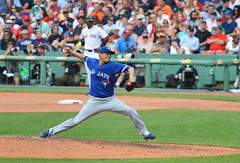 Jesse Chavez (acase1968) Tags: toronto blue jays jesse chavez fenway park baseball nikon d7000 nikkor 70200mm f28g mlb major league pitcher