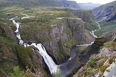 The Vøringsfossen and the valley of Måbødalen (smir_001) Tags: river vøringsfossen waterfall water norway picturesque travel tourism attraction nature outdoor landscape august summer canoneos7d norway2018 hardangerviddaplateau måbødalenvalley hardangervidda plateau valley måbødalen steep narrow bridge beautiful vista panoramic scenicview hardanger eidfjord hordalandcounty