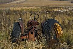 Lost & Forgotten (Marv R Penner) Tags: saskatchewan prairie old antique forgotten farm machinery autumn canada nikon d800e 2470