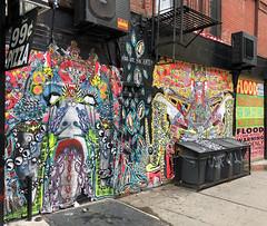 Are You Anti by Rene Exors (wiredforlego) Tags: graffiti mural streetart urbanart publicart manhattan eastvillage newyork nyc pasteup wheatpaste reneexors