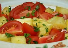 pineapple and tomato salad (Uncle Tee TX) Tags: flash godox tt685s sony a7ii fe9028 macrog