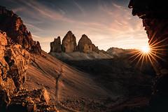 Tre Cime Evenings (Airpixelsmedia) Tags: landscape sunrise sunset nature trecime dolomites mountain mountains unesco dolomiti italy
