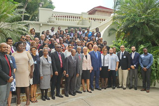 Regional Meeting for Advancing Recommendations for Addressing Gaps in the Human Rights Response under the PANCAP Justice For All Programme in Kingston, Jamaica on 30 October 2018.