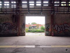 Brauerei B. 3 (Moddersonne) Tags: lost place urbex verlassen abandoned decay verfall urban exploration brauerei brewery tür door