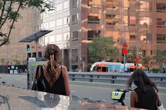 Women Passing By Me - DTLA (Joey Z1) Tags: womenpassingbyme streetscene grandavela reflections laarchitecture lalife streetscenela lifeinlosangeles downtownlosangeles dtla afternoonlight architecturalscene urbanlife lifeinthestreet urbanla moca mocalosangeles colorsofthestreet twowomen polychromatic pentaxks1