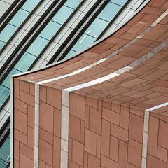 slide... (slavekR) Tags: lines curve office block windows brick slide building architecture
