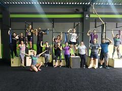 Galera do treino do CrossFit.