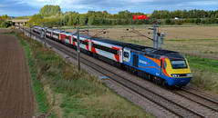 EMT - 43050 and 43075 (dgh2222) Tags: hst class 43 43050 43075 1y86 ecml hambleton uk railways