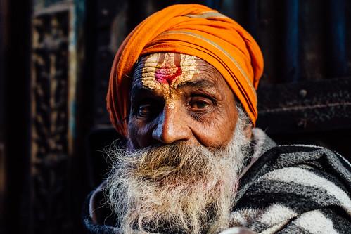 Sadhu With Beard, Uttar Pradesh India