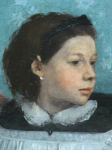 DEGAS Edgar,1858-67 - La Famille Bellelli (Orsay) - Detail 20
