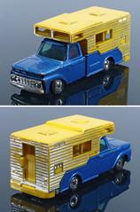 COH-037-Ford-Camper (adrianz toyz) Tags: diecast toy model adrianztoyz husky corgi junior toys ford pickup camper van 37