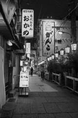 alley (Hideki-I) Tags: street osaka japan nikon d850 2470 blackandwhite bw 白黒