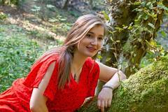 IMG_9324 (fab spotter) Tags: younggirl portrait forest levitation brenizer extérieur lumièrenaturelle