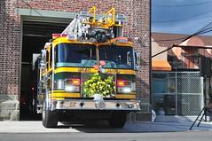 Bryn Mawr Fire Company Ladder 23 (Triborough) Tags: pa pennsylvania montgomerycounty lowermeriontownship lowermerion brynmawr bmfc brynmawrfirecompany firetruck fireengine ladder ladder23 eone