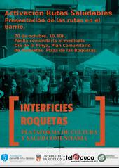 Fem Pinya roquetes 20 octubre (transductores) Tags: interficies talleres barcelona roquetas