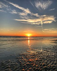 Low Tide Sunset (Marc Sayce) Tags: sunset sundown sand beach low tide west wittering sussex autumn october 2018